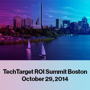 TechTarget Boston ROI Summit