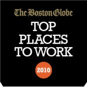 THe Boston Globe: Top Places to Work